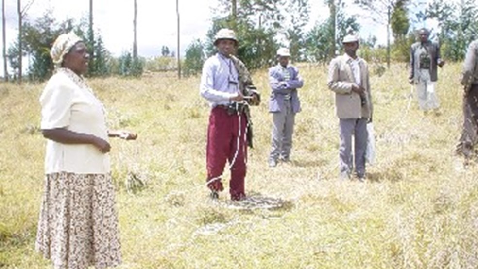 Grassland monitoring at Kinangop Plateau