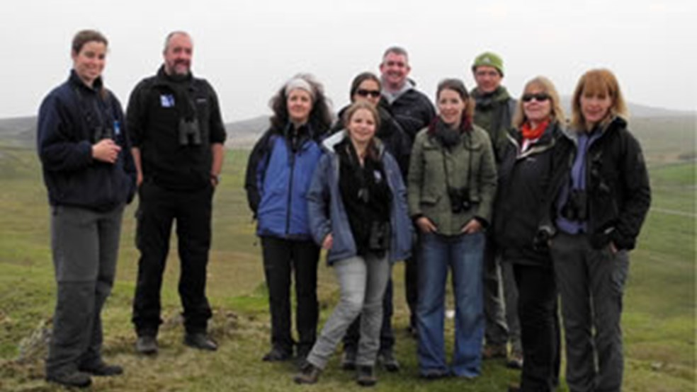 HELP Steering Group visit Islay