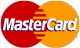 We accept MasterCard cards